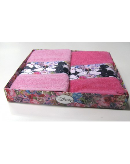 2 serviettes Minnie Love