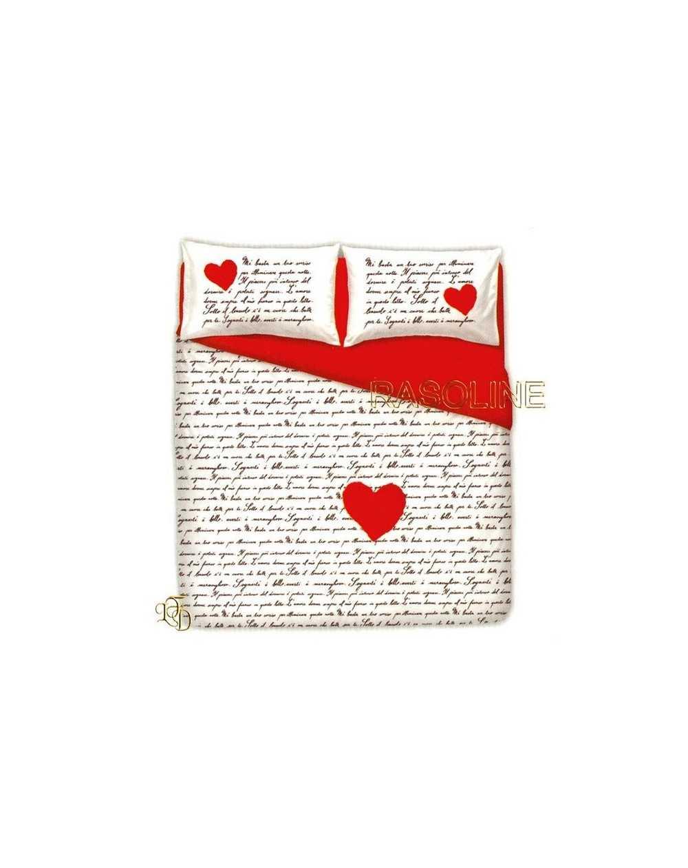 Copripiumino Matrimoniale Love.Lfd Home