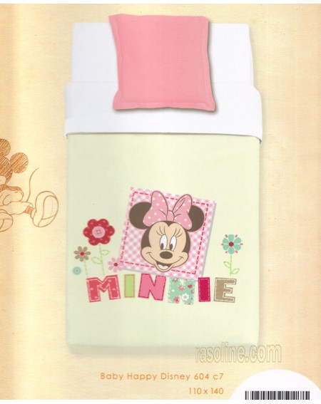 Coperta Per Lettino Copriletto 110 x 140 Minnie Baby Disney