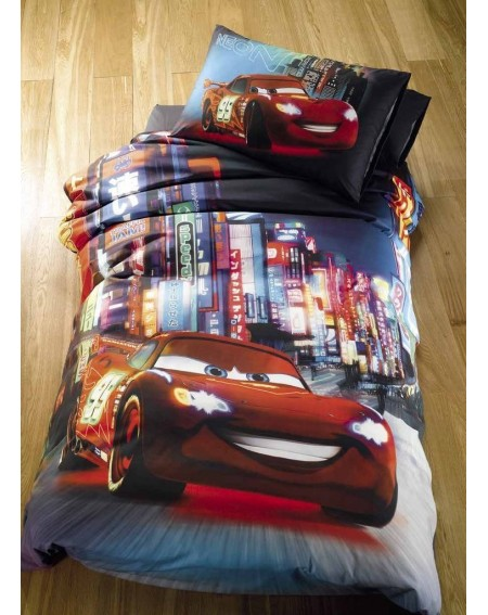 Duvet Set single bed Cars NEON Disney Caleffi