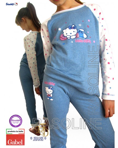 Pigiama Lungo Tuta Hello Kitty Gabel Jeans