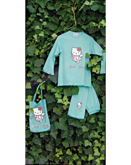 Schlafanzug Hello Kitty Gabel Berry Angel