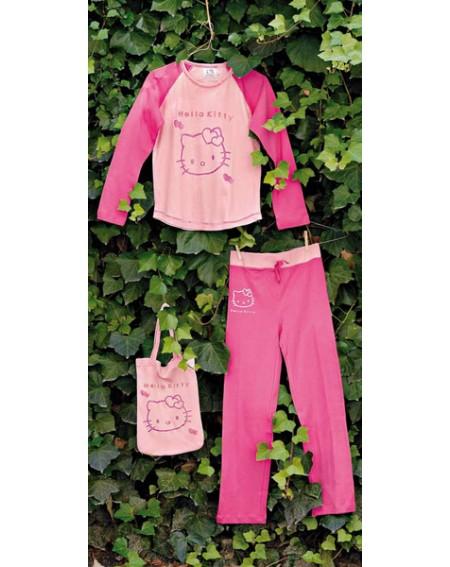 Schlafanzug Hello Kitty Gabel Outline
