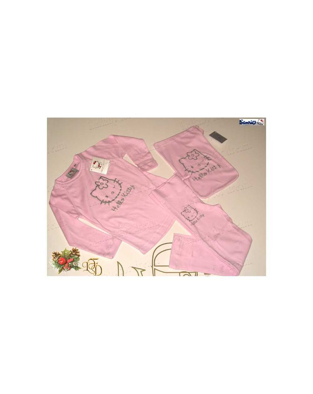 Trapunta Hello Kitty Gabel.Pigiama Hello Kitty Shine Gabel Size L