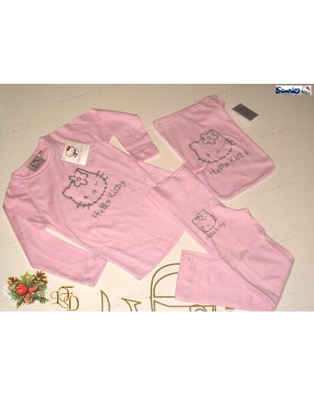 Schlafanzug Hello Kitty Shine Gabel 4 - 11 Jahre