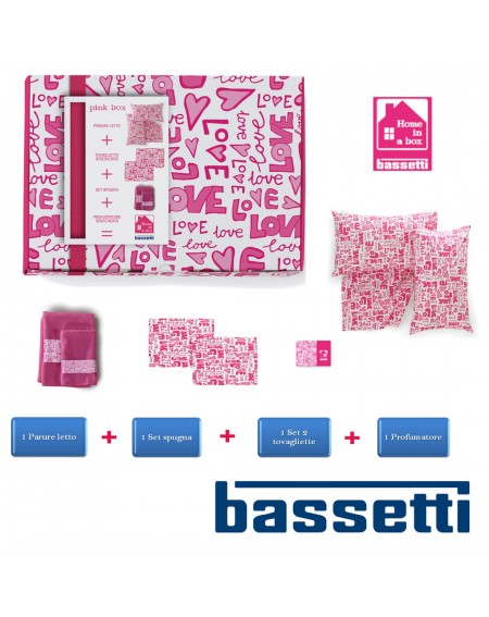 HOME in a BOX 8 pezzi pink...
