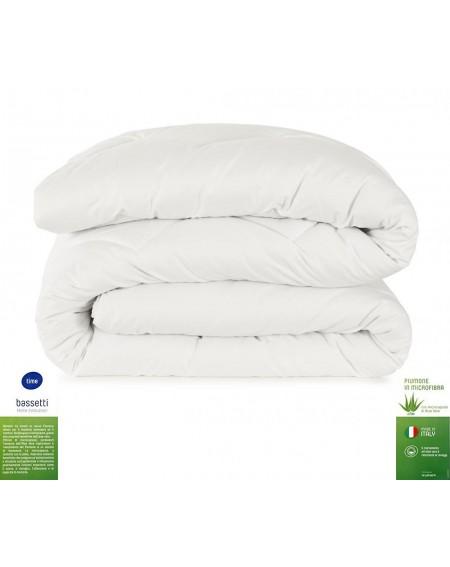 Microfiber White Down Comforter Bassetti 200 x 200 cm Time