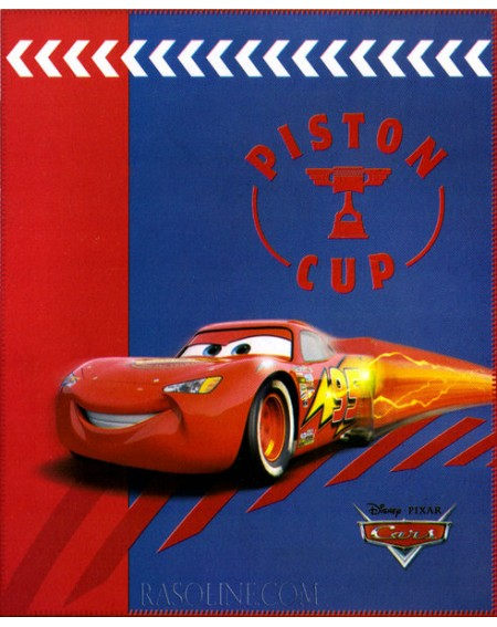 FLEECE BLANKET PISTON CUP CARS DISNEY