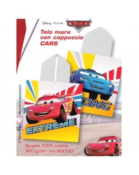 Capa de baño CON CAPUCHA CARS DISNEY