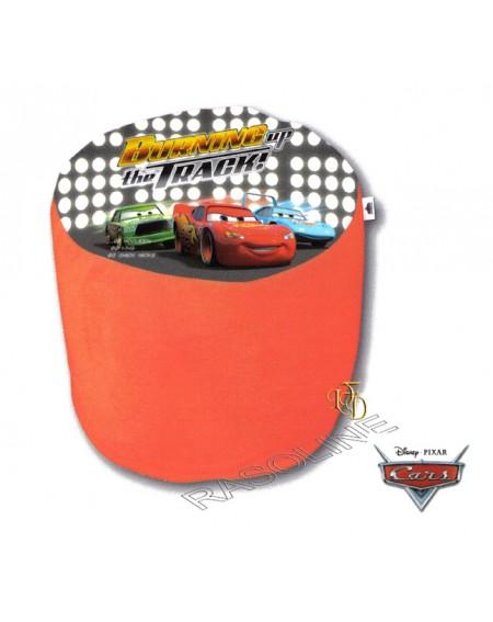 Pouf In Peluche Saetta - Cars Interno Gonfiabile Disney