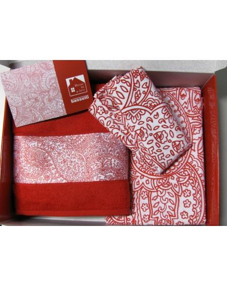 HOME in a BOX 8 pezzi ROJO Bassetti