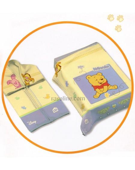 Couverture souple Winnie Sack L'ourson bébé Disney 2 en 1