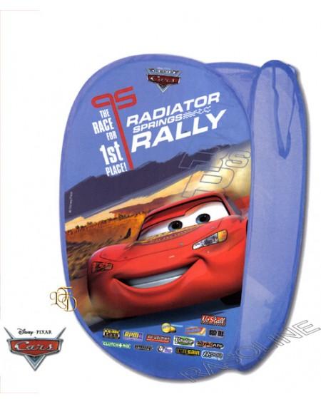 Scatola Contenitore Pieghevole In Tnt Cars Saetta Disney