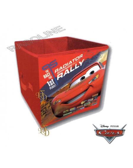 Scatola Saetta - Cars Contenitore Pieghevole Tnt Disney