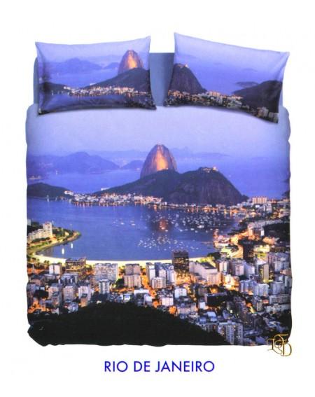 Funda nórdica Rio de Janeiro  BASSETTI NATURA