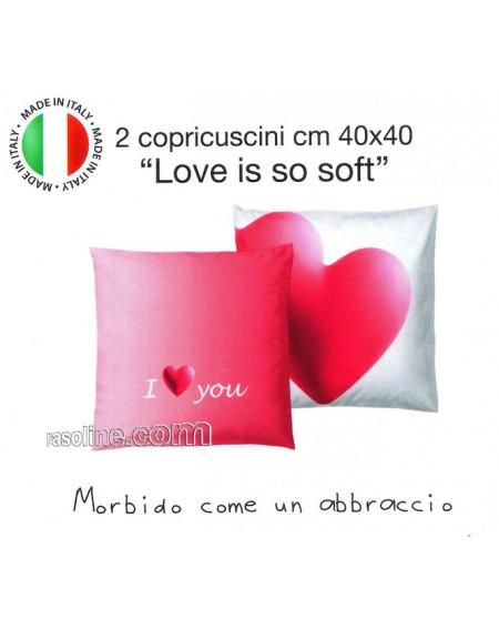 SET DUE FEDERE-COPRICUSCNI LOVE IS SO SOFT BASSETTI