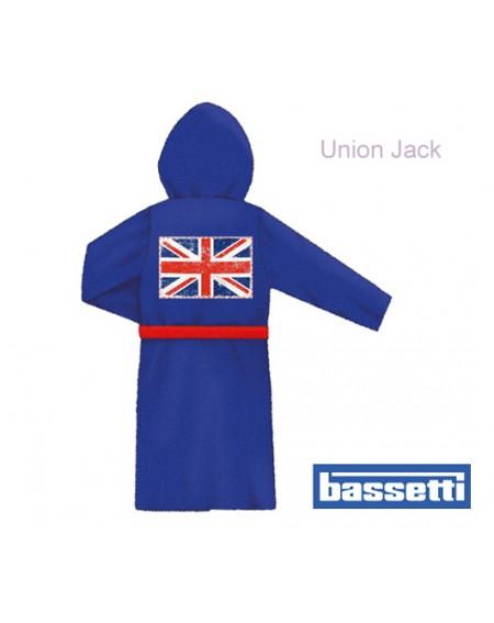 BATHROBE Union Jack Bassetti