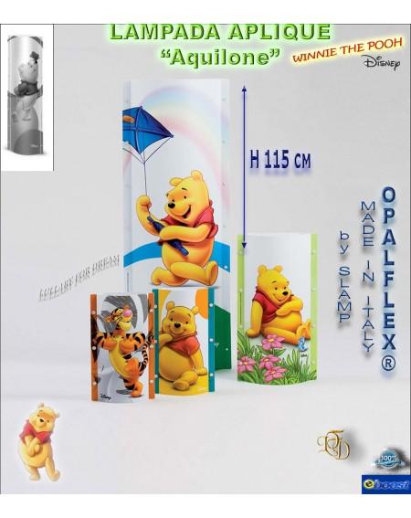 "Lampada Applique ""Winnie The Pooh"" Disney Slamp Aquilone"