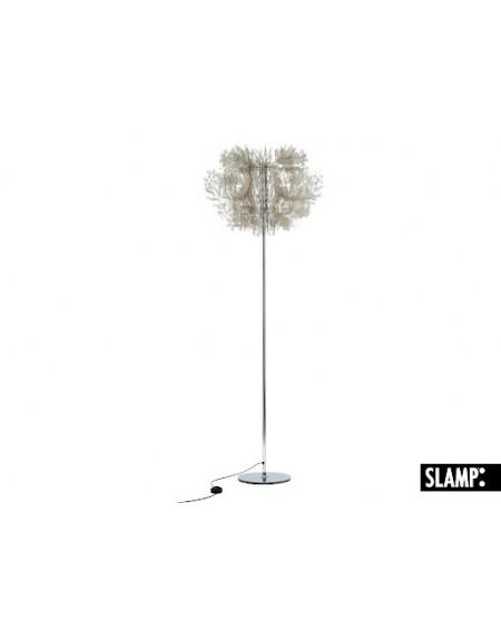 Lampada Da Terra Appoggio Piantana Fiorella Fume' Slamp