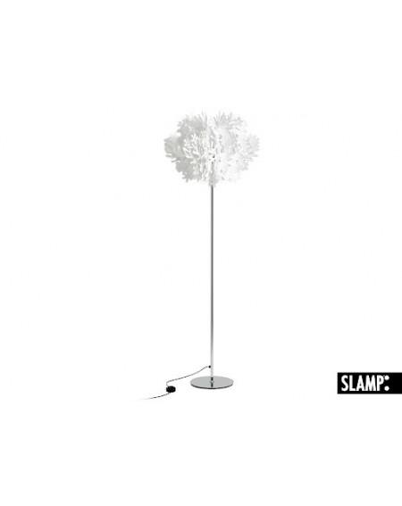 Lampada Da Terra / Appoggio Piantana Fiorella By Slamp Bianca