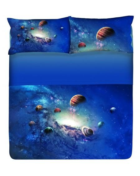 Bettwäsche Garnitur Spannbettlaken Bettlaken Cosmo