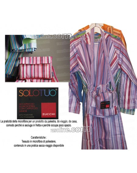 MICROFIBER ROBE WITH...