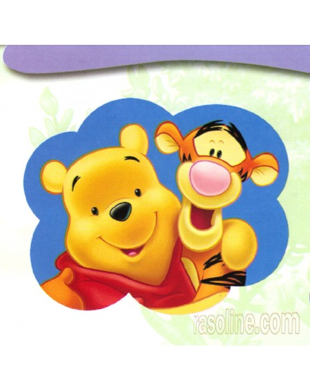 Tappeto Scendiletto Winnie e Tigro 50 X 80 Cm Disney