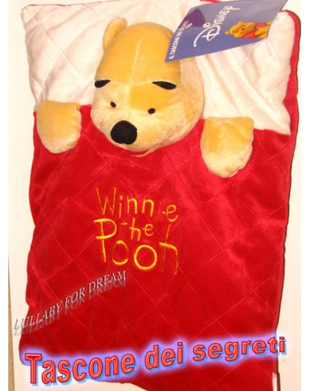 "Cuscino Portapigiama ""Tascone Dei Segreti Winnie Pooh"""