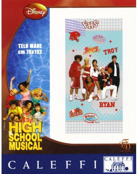 Telo Grande Mare Piscina Bagno High School Musical Disney Caleffi