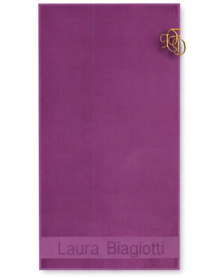 Telo Mare Piscina Bagno Asciugamano Laura Biagiotti Viola