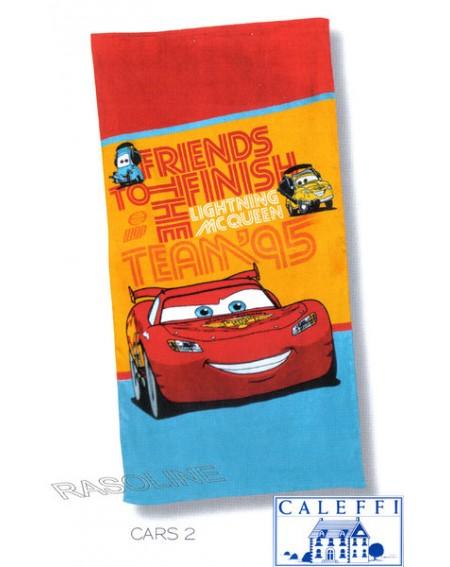 Towel Beach Cars 2 Team 95 Disney 75X 150 Cm Caleffi