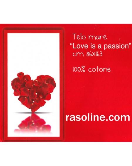 Telo Mare Piscina Bagno Love Is A Passion Bassetti