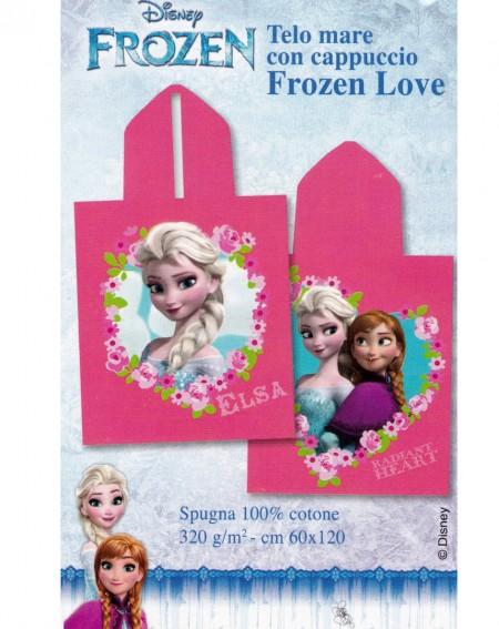 Poncho de baño con capucha para niño Frozen Love