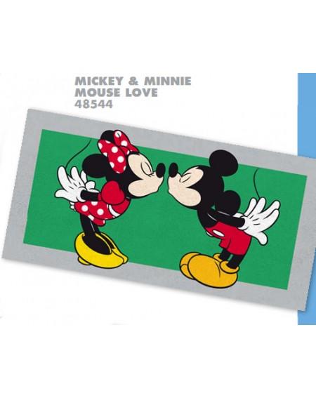 Telo Grande Mare Piscina Bagno Minnie Topolina Disney