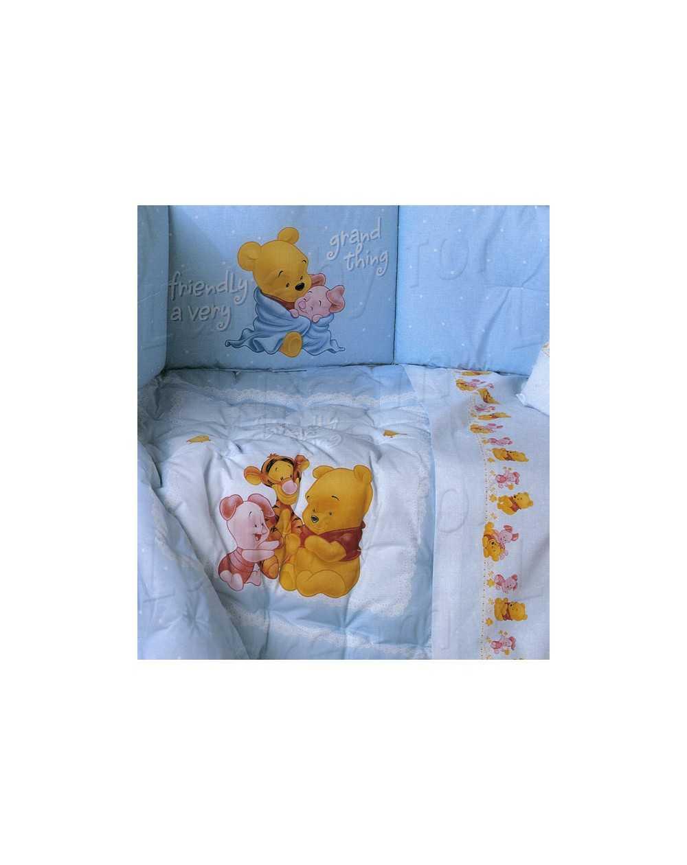 Trapunta Lettino Winnie The Pooh.Lfd Home
