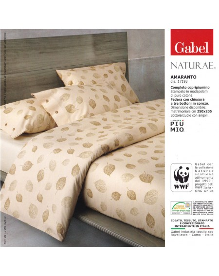 Bettbezug - Bettwäsche Amaranto Gabel