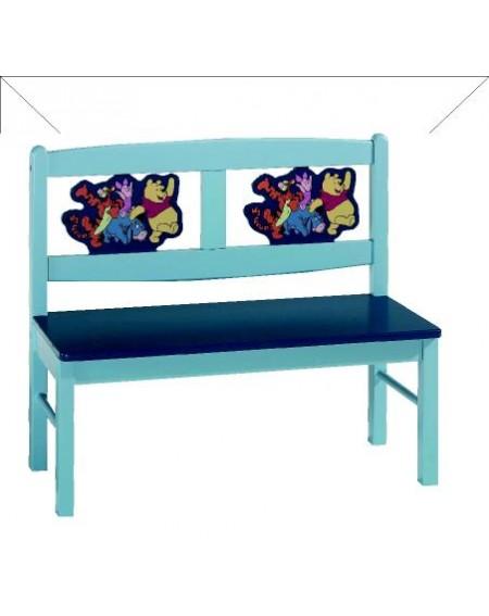 Panchina Con Riquadro Lavorato Winnie The Pooh Panca