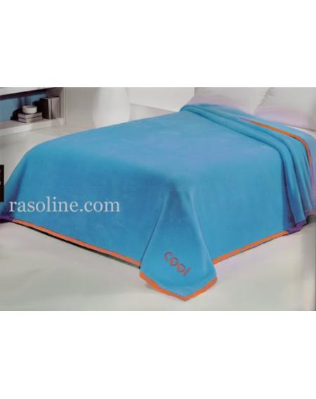 Bettüberwürfe Himmelblau decke doppelbett Cool Colors