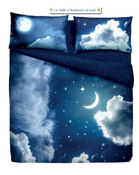 Bettbezug und Kissenbezug einzelbett maße Sweet Moon Bassetti