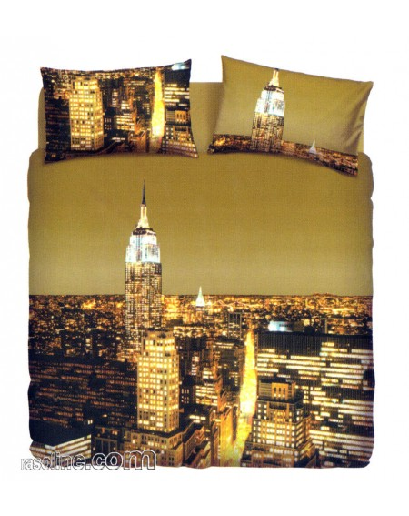Duvet Set - a fitted sheet, duvet cover New York
