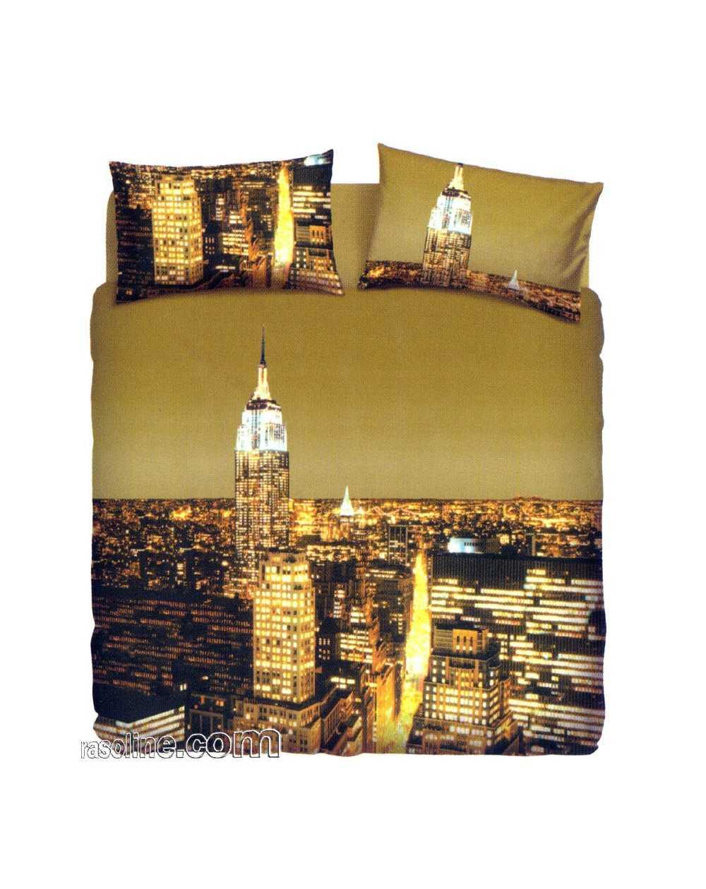 Bettbezug Bettwäsche New York Bassetti