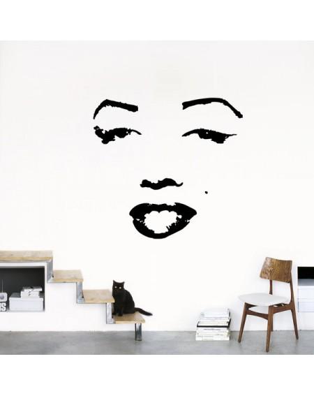 Adesivo murale - HOMESTICKERS® Collector 51 x 71 cm Marilyn Monroe