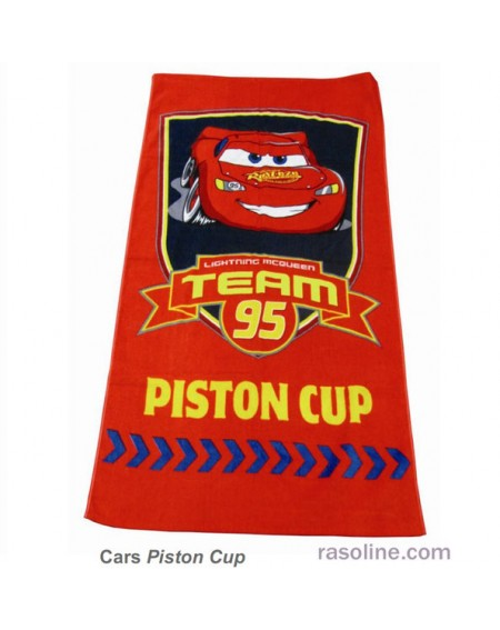 BEACH TOWEL 70 120 cm Piston Cup Cars