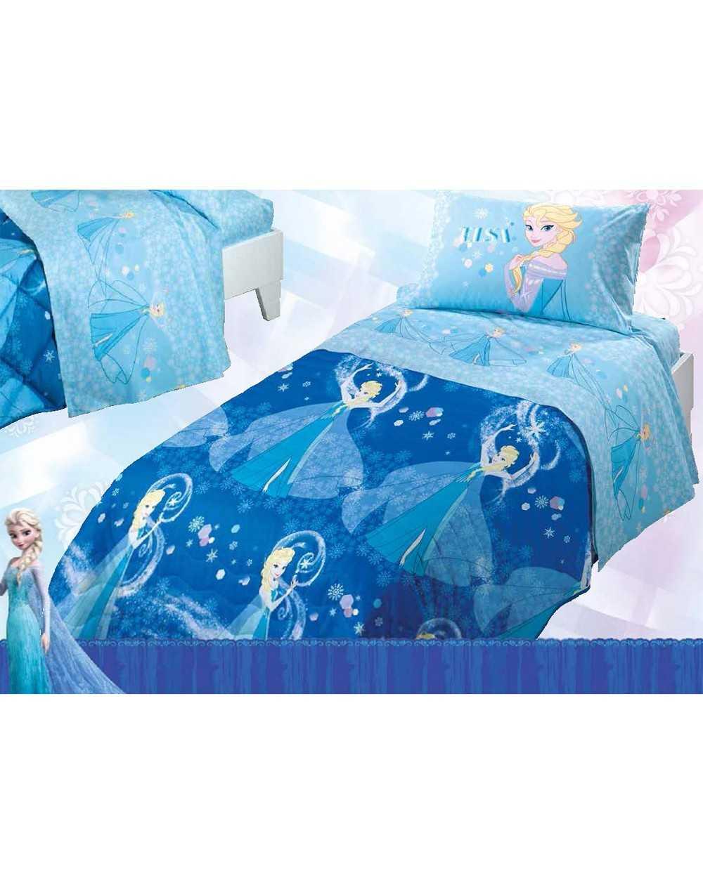 Eccezionale Copriletto Trapuntino Principesse Frozen Elsa Una Piazza e Mezza  ZF13