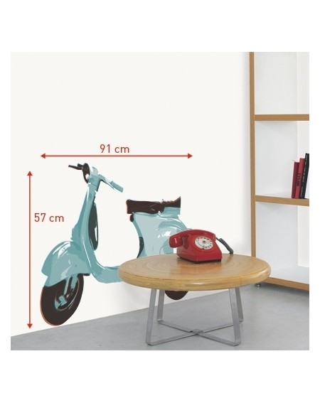Wall sticker HOMESTICKERS® Collector Vespa 91 x 57 cm
