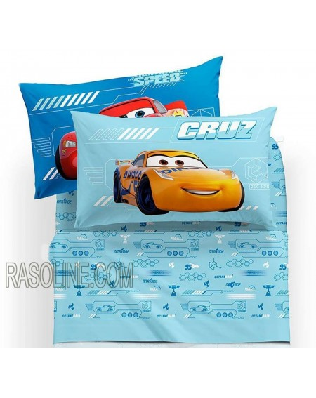 Sheet set DOUBLE BED Cars...