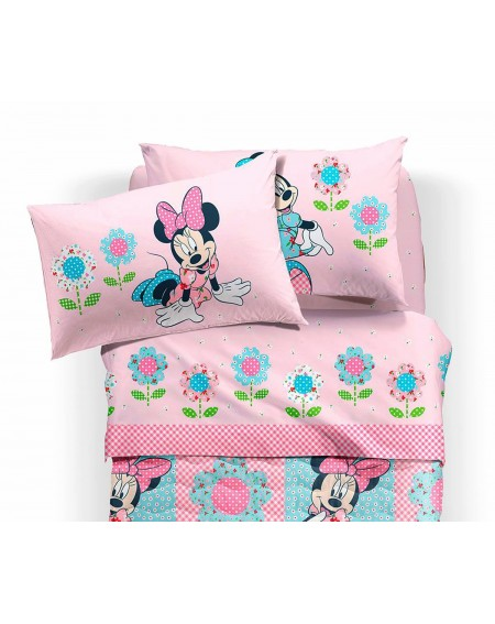 lenzuola minnie patchwork