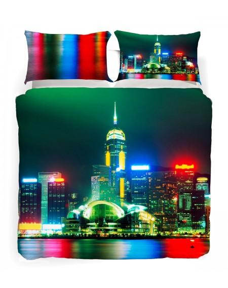 HONG KONG Bettwäsche Bettbezug Discovery
