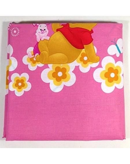 Lenzuolo Sopra Winnie The Pooh Esclusiva Linea Puzzle Di Caleffi Colore Rosa
