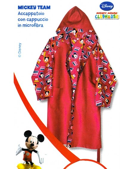 Bademantel Microfiber TEAM Mickey Caleffi Disney